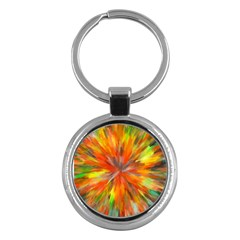 Color Background Structure Lines Space Key Chains (round)  by Jojostore