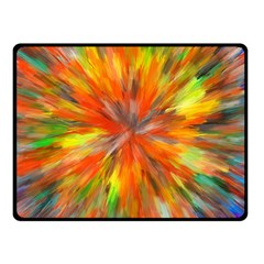 Color Background Structure Lines Space Fleece Blanket (small)