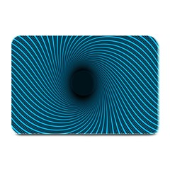 Background Spiral Abstract Plate Mats