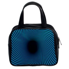 Background Spiral Abstract Classic Handbag (two Sides) by Jojostore