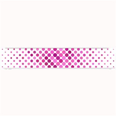 Dot Pattern Circle Pink Small Bar Mats by Jojostore