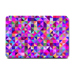 Floor Colorful Colorful Triangle Small Doormat  by Jojostore
