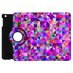 Floor Colorful Colorful Triangle Apple Ipad Mini Flip 360 Case