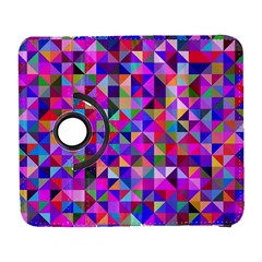 Floor Colorful Colorful Triangle Samsung Galaxy S  Iii Flip 360 Case