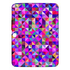 Floor Colorful Colorful Triangle Samsung Galaxy Tab 3 (10 1 ) P5200 Hardshell Case
