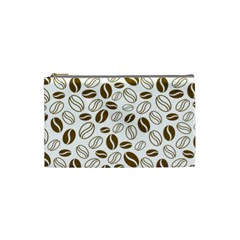 Coffee Beans Vector Cosmetic Bag (small)