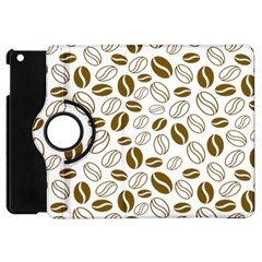 Coffee Beans Vector Apple Ipad Mini Flip 360 Case by Mariart