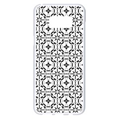 Decorative Ornamental Samsung Galaxy S8 Plus White Seamless Case