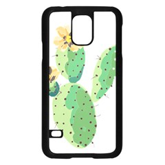 Cactaceae Thorns Spines Prickles Samsung Galaxy S5 Case (black) by Mariart