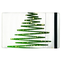 Christmas Tree Spruce Apple Ipad 2 Flip Case by Mariart