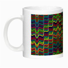 Decorative Ornamental Abstract Wave Night Luminous Mugs