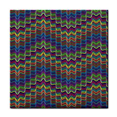 Decorative Ornamental Abstract Wave Face Towel