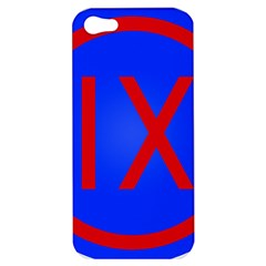 United States Army 9th Mission Support Command Shoulder Sleeve Insignia Apple Iphone 5 Hardshell Case