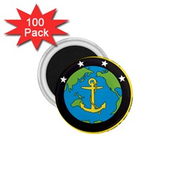 Seal Of Commander Of United States Pacific Fleet 1 75  Magnets (100 Pack)