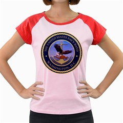 Seal Of United States Navy Band Women s Cap Sleeve T Shirt