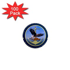 Seal Of United States Navy Band 1  Mini Magnets (100 Pack)  by abbeyz71