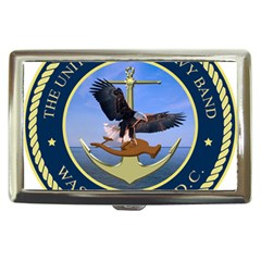 Seal Of United States Navy Band Cigarette Money Case