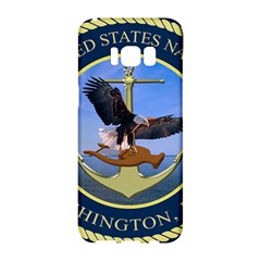 Seal Of United States Navy Band Samsung Galaxy S8 Hardshell Case