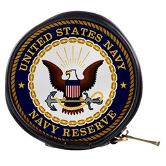 Seal Of United States Navy Reserve Mini Makeup Bag by abbeyz71