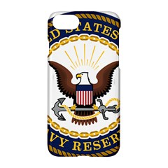 Seal Of United States Navy Reserve Apple Iphone 8 Hardshell Case