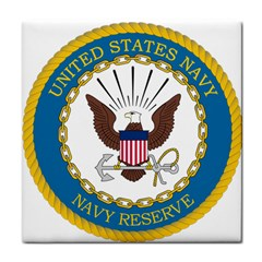 Seal Of United States Navy Reserve, 2005 2017 Tile Coasters
