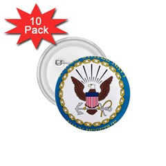 Seal Of United States Navy Reserve, 2005 2017 1 75  Buttons (10 Pack)