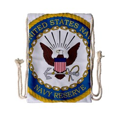 Seal Of United States Navy Reserve, 2005 2017 Drawstring Bag (small)