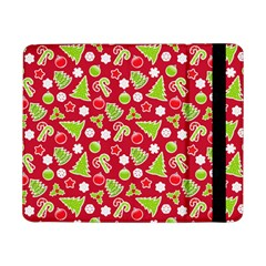 Christmas Paper Scrapbooking Pattern Samsung Galaxy Tab Pro 8 4  Flip Case
