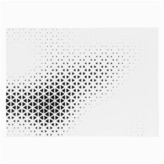 Geometric Abstraction Pattern Large Glasses Cloth (2 Side)