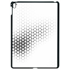 Geometric Abstraction Pattern Apple Ipad Pro 9 7   Black Seamless Case by Mariart