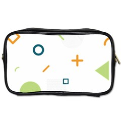 Geometry Triangle Line Toiletries Bag (two Sides)