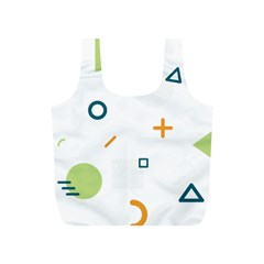 Geometry Triangle Line Full Print Recycle Bag (s)