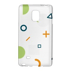 Geometry Triangle Line Samsung Galaxy Note Edge Hardshell Case by Mariart