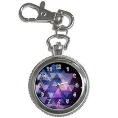 Geometric Triangle Key Chain Watches by Mariart
