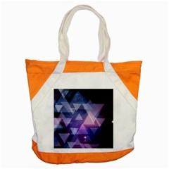 Geometric Triangle Accent Tote Bag by Mariart