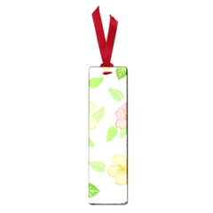 Flowers Leaf Stripe Pattern Small Book Marks