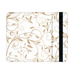 Floating Gold Elegant Pattern Samsung Galaxy Tab Pro 8 4  Flip Case by Jojostore