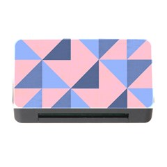 Fabric Geometric Cotton Texture Memory Card Reader With Cf