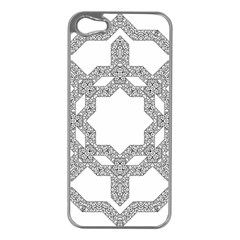 Encapsulated Apple Iphone 5 Case (silver)