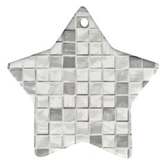 Diamonds Rectangle Star Ornament (two Sides)