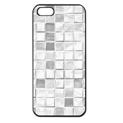 Diamonds Rectangle Apple Iphone 5 Seamless Case (black)