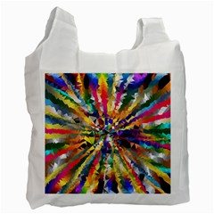Colorful Prismatic Chromatic Recycle Bag (one Side)