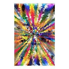 Colorful Prismatic Chromatic Shower Curtain 48  X 72  (small)