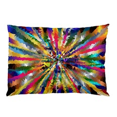 Colorful Prismatic Chromatic Pillow Case (two Sides)