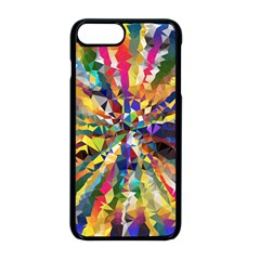 Colorful Prismatic Chromatic Apple Iphone 8 Plus Seamless Case (black)