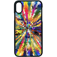 Colorful Prismatic Chromatic Apple Iphone X Seamless Case (black) by Jojostore