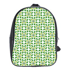 Leaf Leaves Flora School Bag (large)