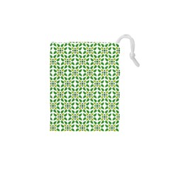 Leaf Leaves Flora Drawstring Pouch (xs)