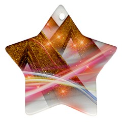 Golden Triangle Ornament (star)