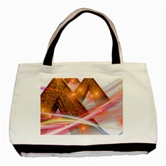Golden Triangle Basic Tote Bag (two Sides)